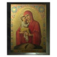 Images of saints on shungite